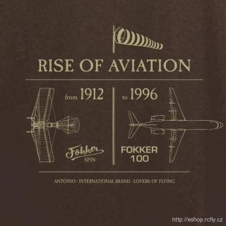 ANTONIO-Polokošile ANTHONY FOKKER - RISE OF AVIATION vel.L